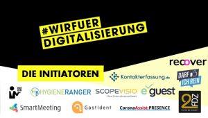 Wir für Digitaliserung